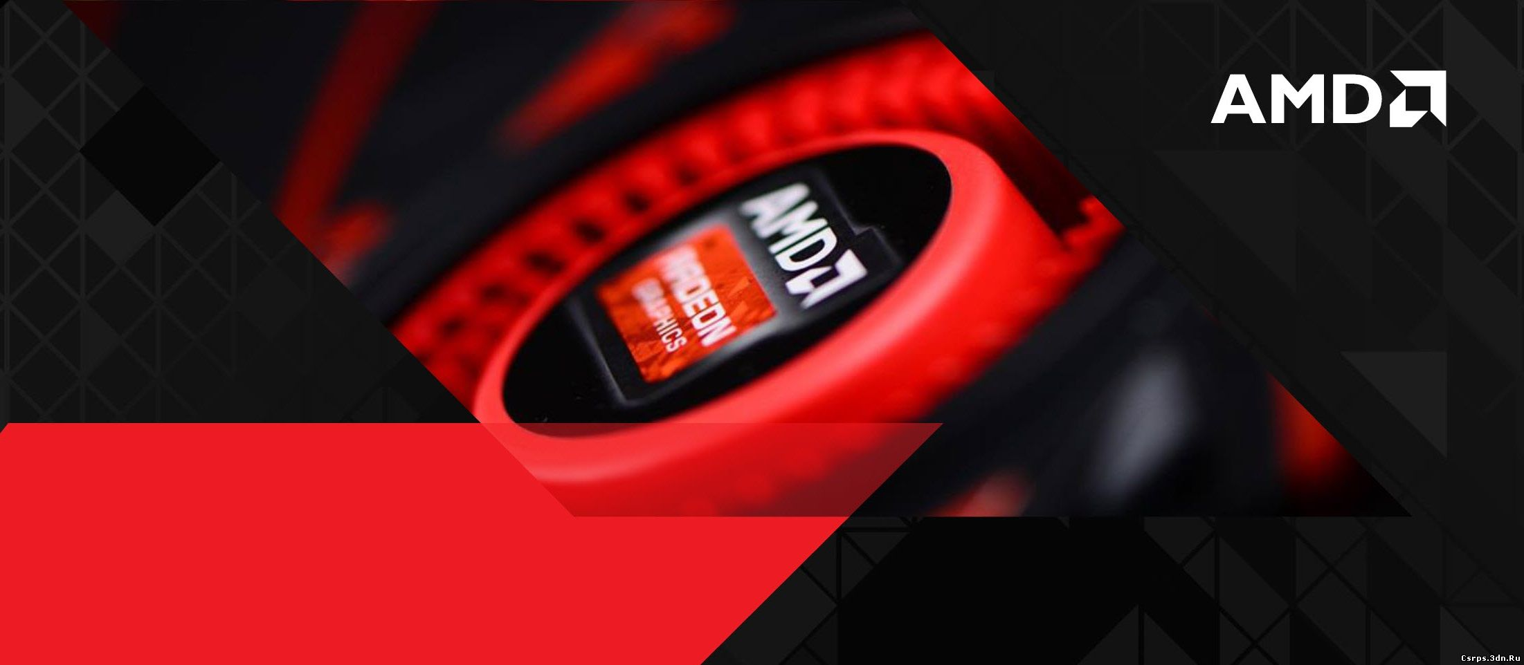 AMD отпечатала GPU Rx 400