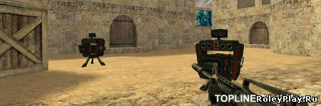 Открытие сервера Counter-Strike 1.6 CSDM SENTRY LASER